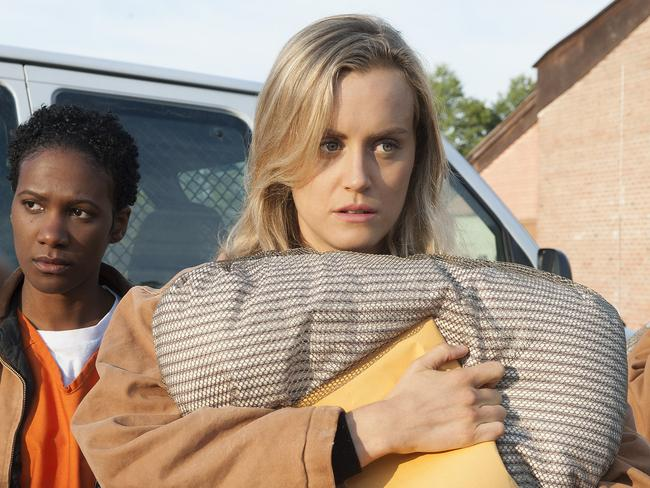 Popular among pirates …  <i>Orange is the New Black</i>. Picture: AP Photo/Netflix, Barbara Nitke