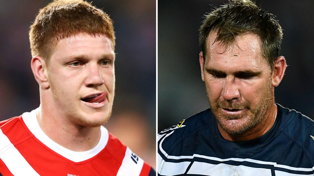 Dylan Napa and Scott Bolton have been sanctioned by the NRL.