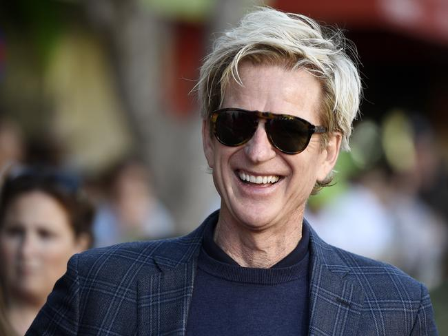 Matthew Modine, the Hollywood star who is also president of the firm that's planning Hyper Chariot. Picture: Chris Pizzello