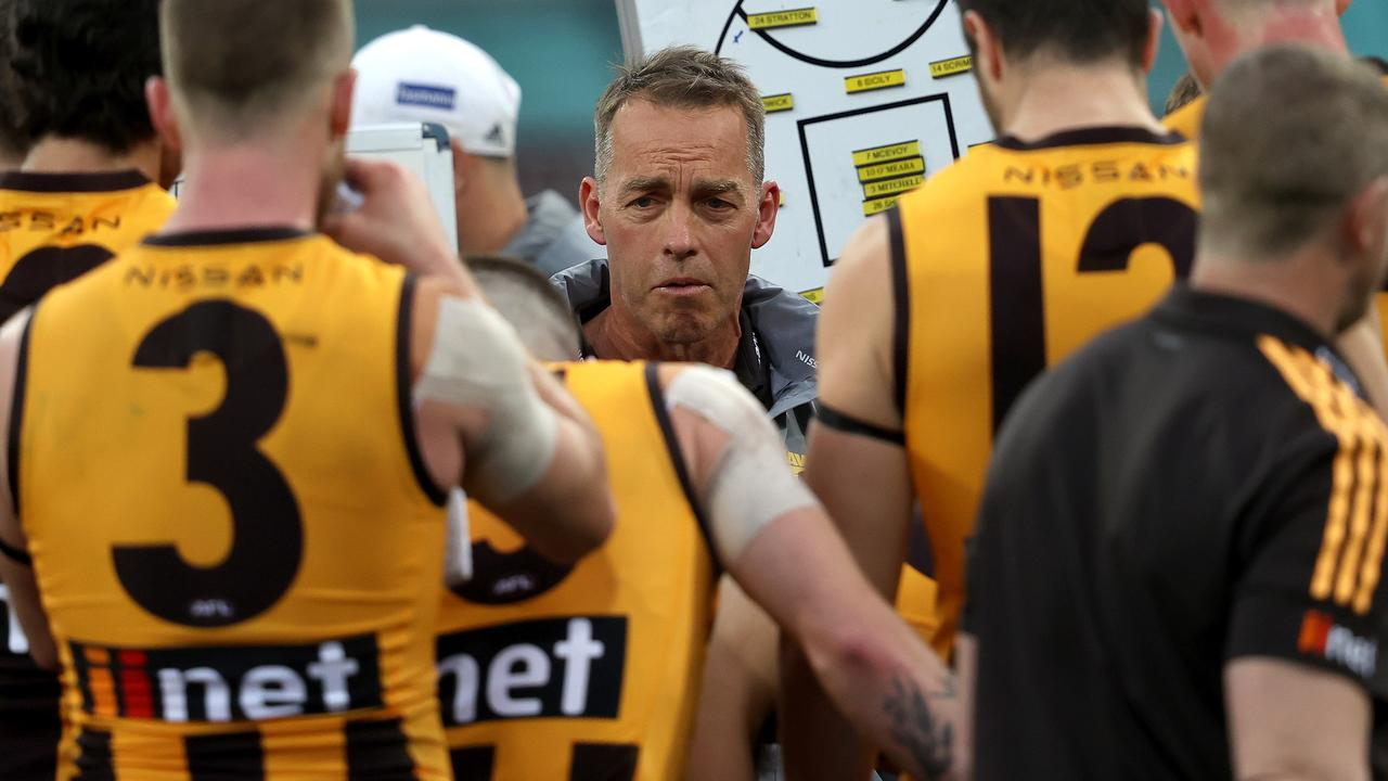 Hawthorn coach Alastair Clarkson. Picture: Phil Hillyard