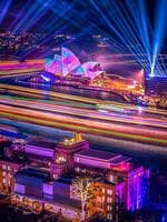 Favourite Instagram moments of Vivid Sydney 2019, the largest festival of lights, music and ideas in the Southern Hemisphere, attracts more than 2 million visitors every year. Sydney Harbour (Instagram - @janbreckwoldt_photography)