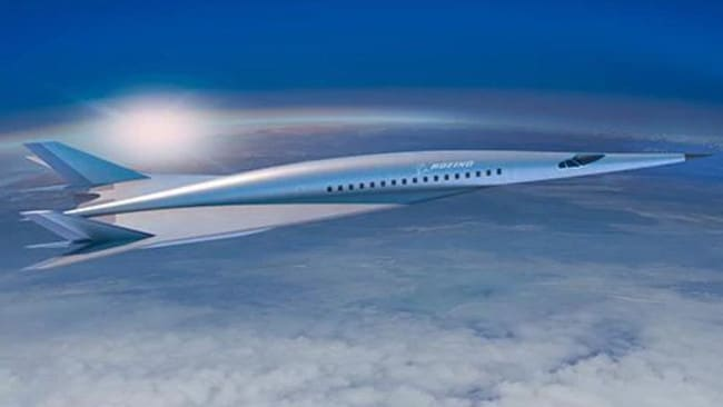 Boeing' hypersonic concept plane. Picture: Boeing