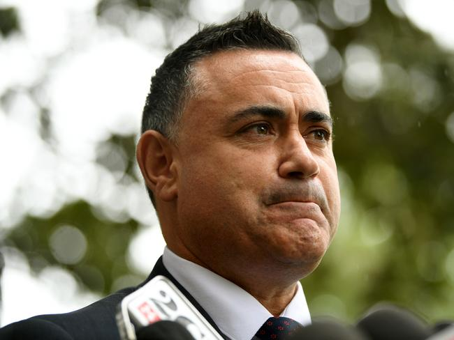Deputy Premier John Barilaro is understood to be pushing a plan to roll back lockout laws. Picture: AAP