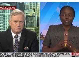 Lucy Gichuhi won't say