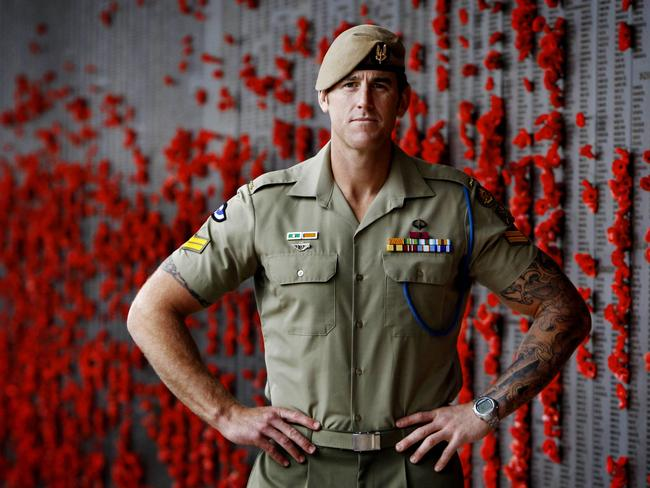 Ben Roberts-Smith, VC, has made a remarkable career change. Picture: Ray Strange