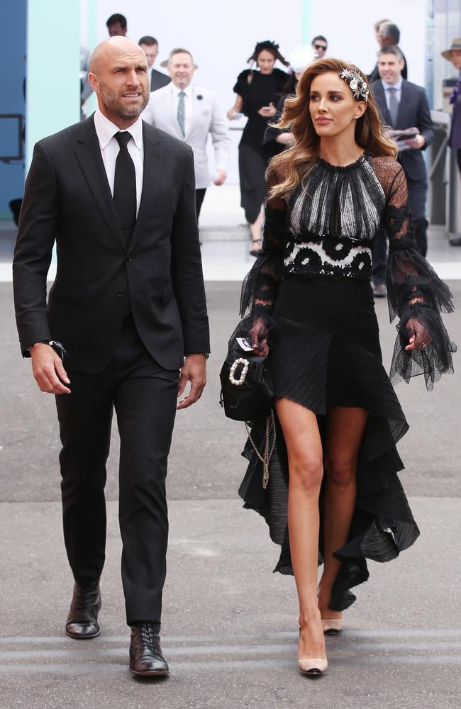 Chris and Rebecca Judd look pretty annoyed at the lack of rugs in the Birdcage.