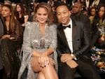 Chrissy Teigen and John Legend attend the 60th Annual GRAMMY Awards at Madison Square Garden on January 28, 2018 in New York City. Picture: Getty