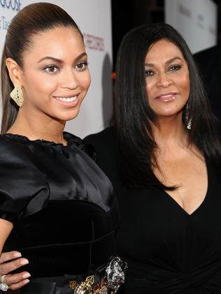 Beyonce and mother Tina Knowles (Photo by Alberto E. Rodriguez/Getty Images)