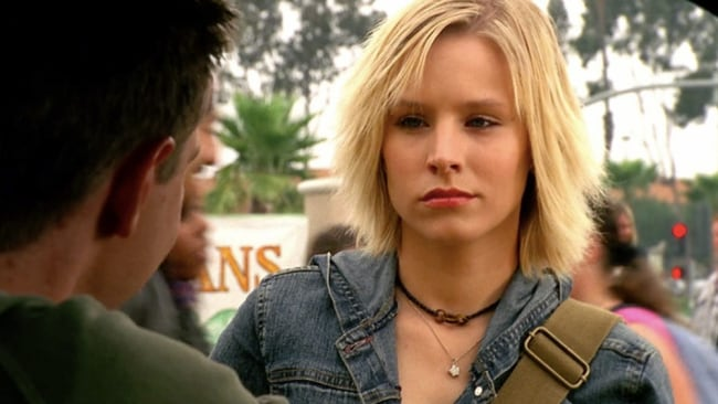 A hard-boiled detective like you'd never seen before. Image: 'Veronica Mars'.