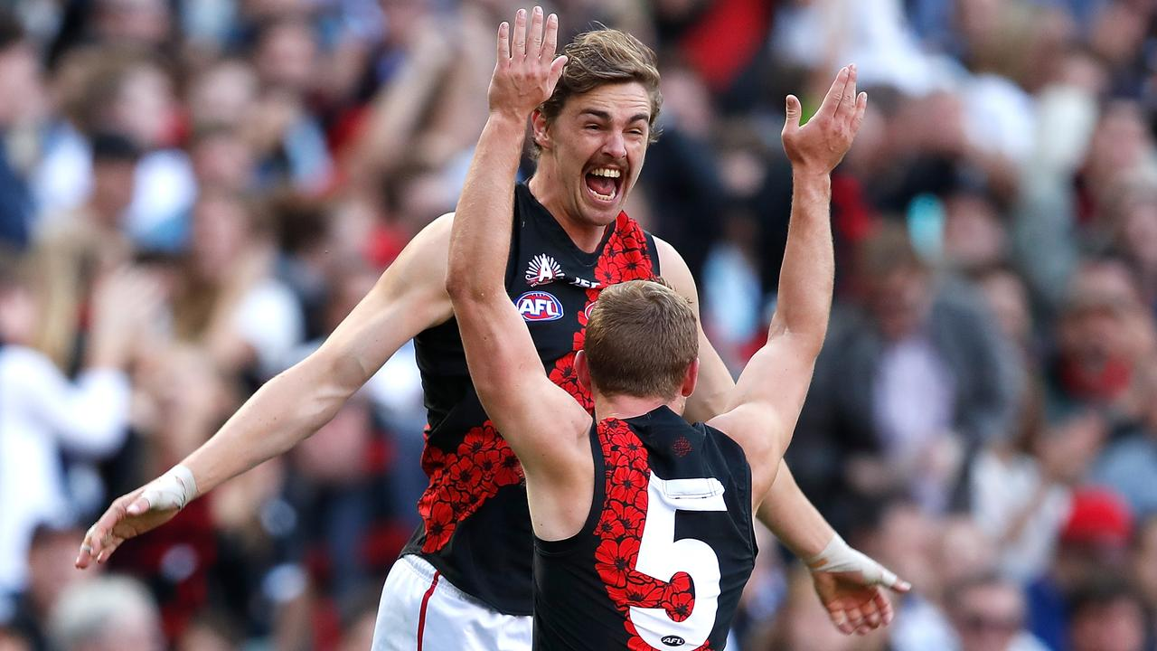 Joe Daniher could play again this season. (Photo by Adam Trafford/AFL Media/Getty Images)