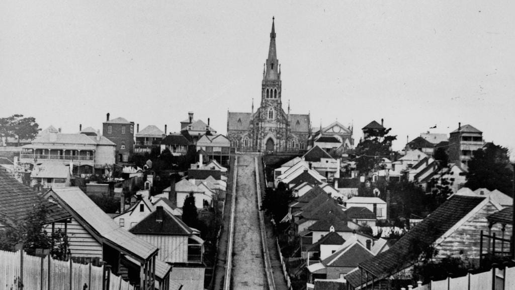 2018 down and up union street spring hill brisbane ca 1890 state library of queensland then and now brisbane news