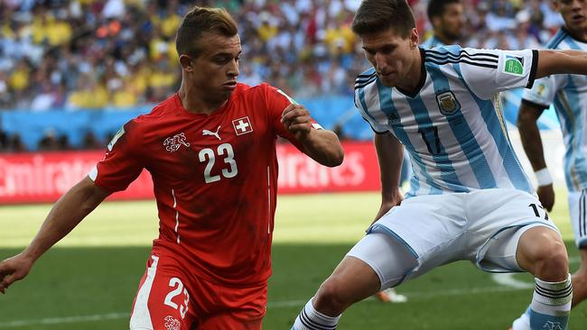 Switzerland's midfielder Xherdan Shaqiri is a sublime talent.