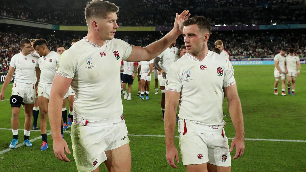 Owen Farrell and George Ford.
