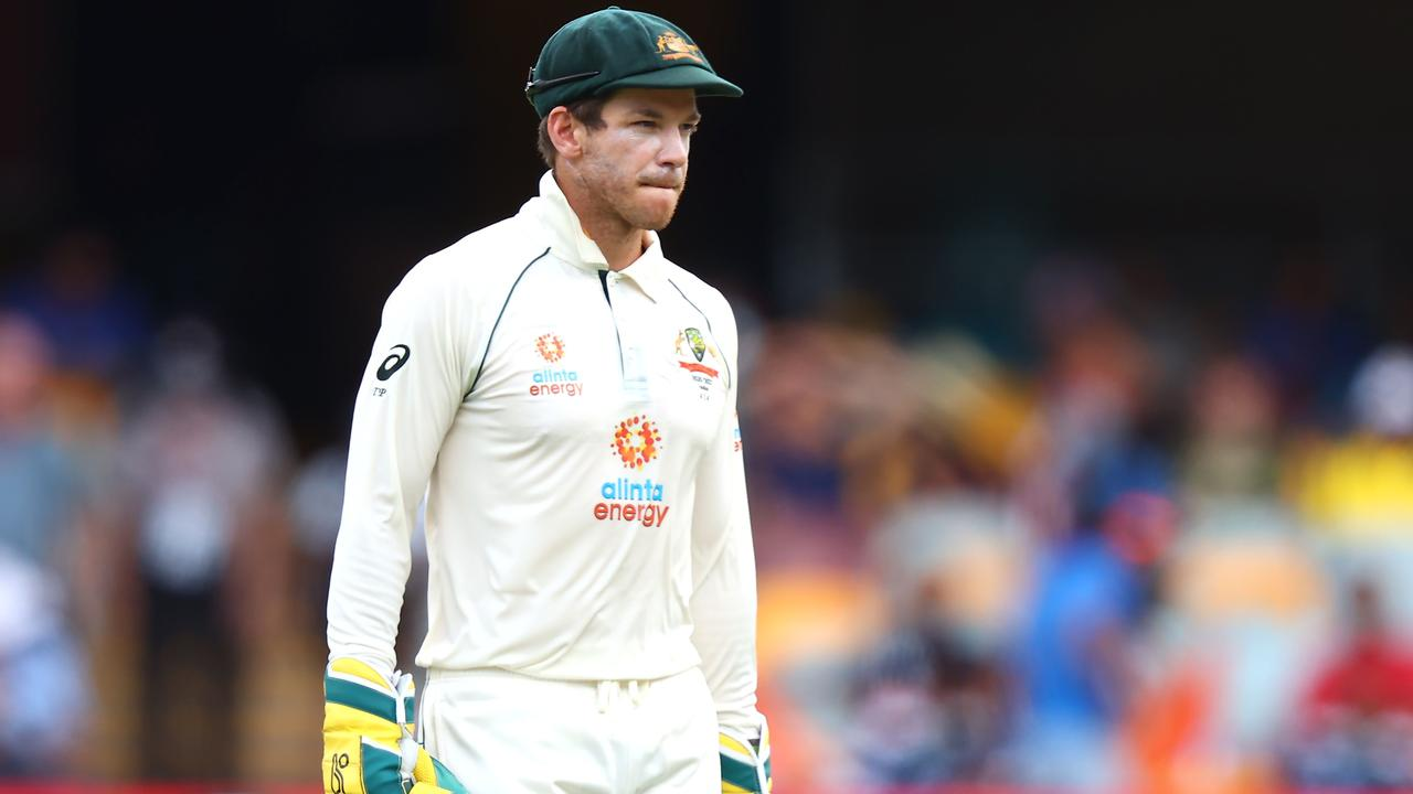 Tim Paine has been backed by Peter Handscomb. Photo: Patrick Hamilton/AFP.