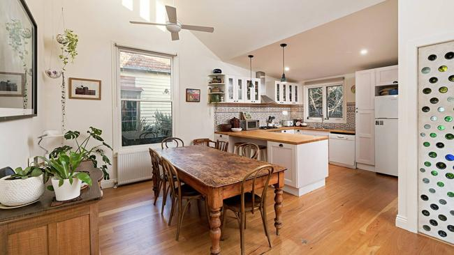 Three bidders went head-to-head for the charming home.