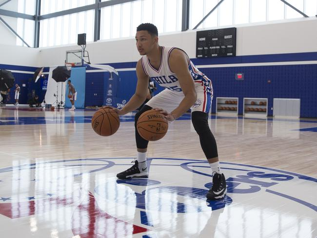 Simmons will finally get his chance to strut his stuff for Philadelphia this year.