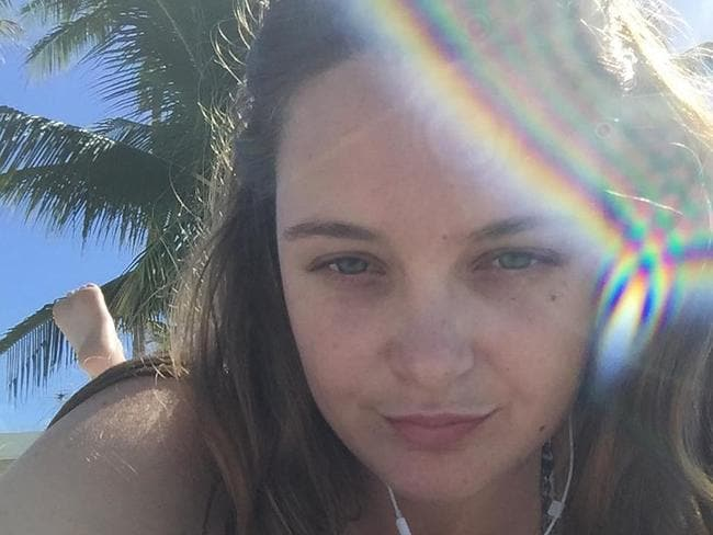 Queensland woman Sophia Martini has died after a scooter crash in Bali. Martini, 27, from Townsville, was a passenger on the scooter driven by her partner on Monday morning. Picture: AAP