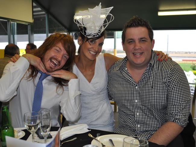 SAFM's breakfast show: Michael Beveridge, Hayley Pearson and Ryan 'Burgo' Burgess.