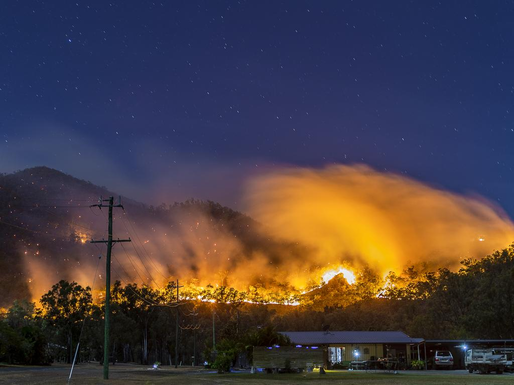 Fires are raging across NSW and Queensland. Picture: Supplied