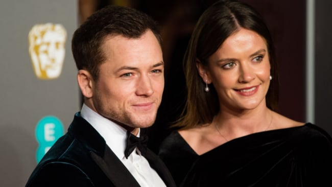 Taron and Emily split around the time he finished filming 'Rocketman' Source: Getty Images