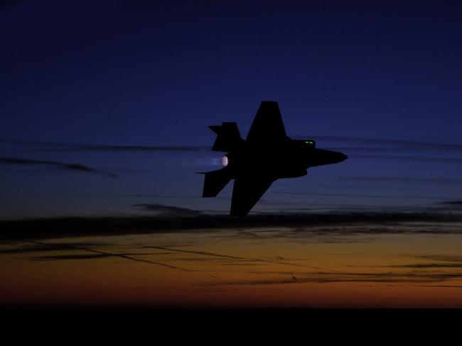 Dark knight ... The F-35's ability to remain unseen is its greatest asset. Source: US DoD
