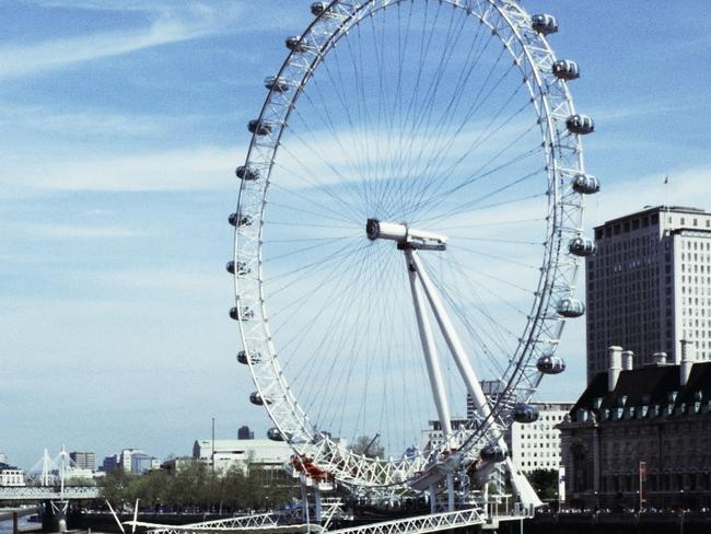 The London Eye. Just keep walking. Picture: Getty Images