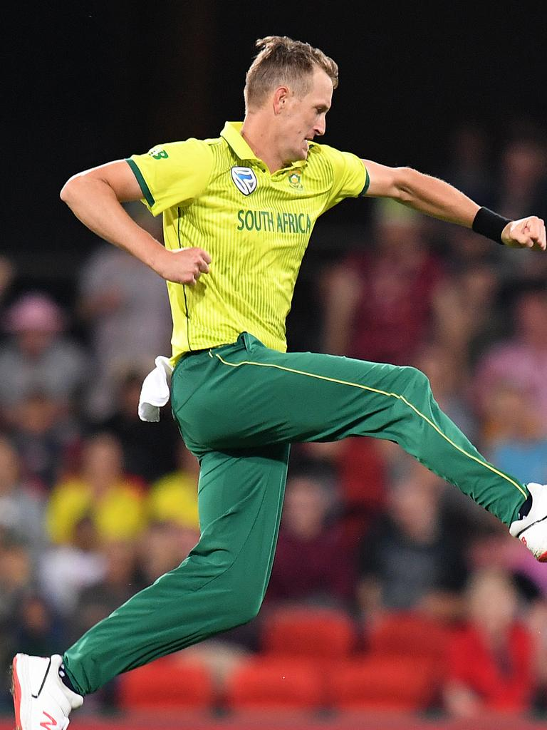 Chris Morris is set to join Sydney Thunder but has been playing in the Msanzi Super League.