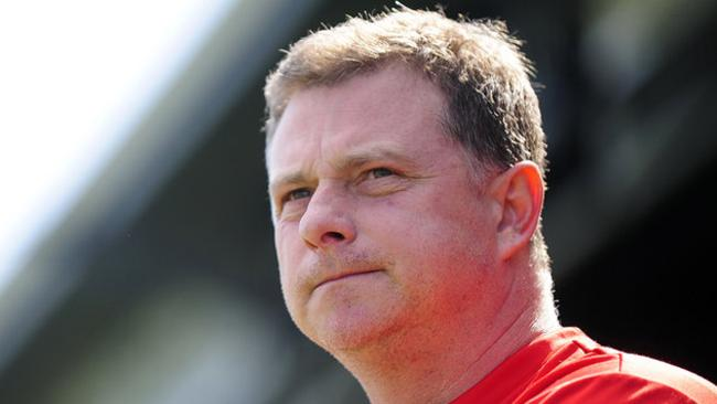 Mark Robins has called it quits after just one game.