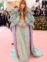 NEW YORK, NEW YORK - MAY 06: Florence Welch attends The 2019 Met Gala Celebrating Camp: Notes on Fashion at Metropolitan Museum of Art on May 06, 2019 in New York City. Jamie McCarthy/Getty Images/AFP == FOR NEWSPAPERS, INTERNET, TELCOS & TELEVISION USE ONLY ==