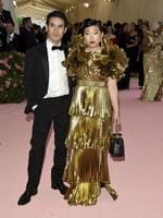 "Awkwafina, right, and designer Joseph Altuzarra attend The Metropolitan Museum of Art's Costume Institute benefit gala celebrating the opening of the ""Camp: Notes on Fashion"" exhibition on Monday, May 6, 2019, in New York. (Photo by Evan Agostini/Invision/AP)"