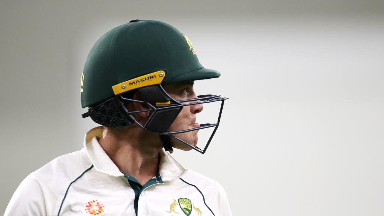What was going through Aussie skipper Tim Paine's mind after he was bowled?
