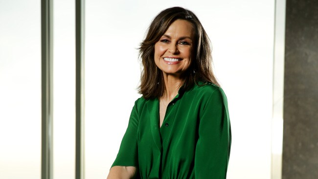 Lisa Wilkinson at the Nutri Life lunch in Sydney yesterday. Picture: Jonathan Ng