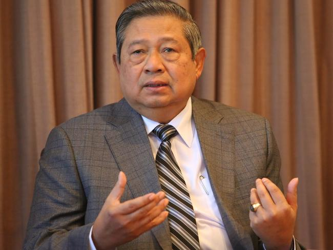 Former Indonesian President Susilo Bambang Yudhoyono. Picture: Supplied