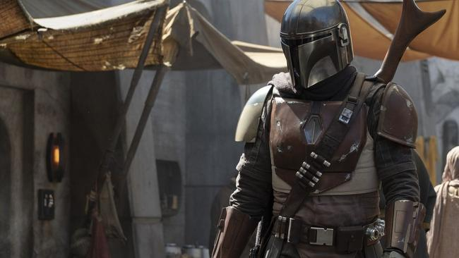 The Mandalorian is Disney+'s signature original Picture: Francois Duhamel/Lucasfilm