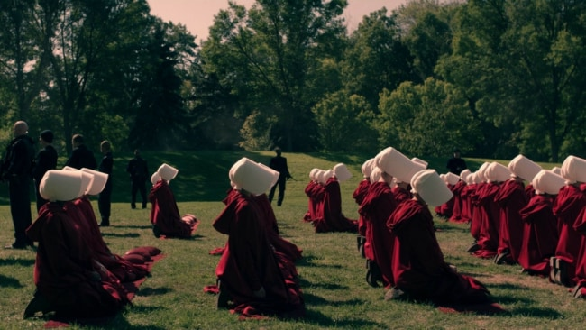 A scene from 'The Handmaid's Tale'. Photo: Hulu/SBS