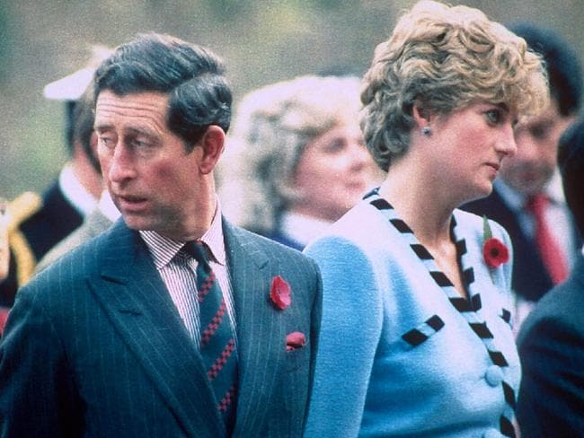 Charles and Diana's unhappy marriage was plagued by affairs. Picture: REX/Shutterstock