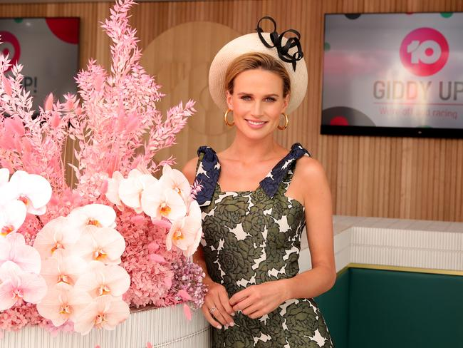 Channel 10's racing host Francesca Cumani. Stuart McEvoy/The Australian.