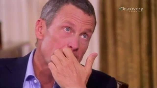 Armstrong on telling his son the truth