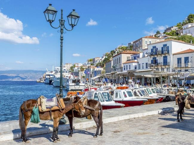 Meghan Markle was single and contemplating her next romance while vacationing on the Greek island of Hydra. Photo: iStock