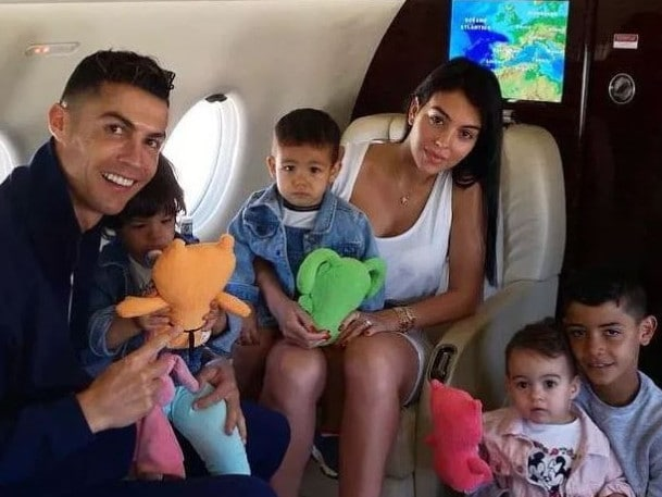 The ever growing Ronaldo family.