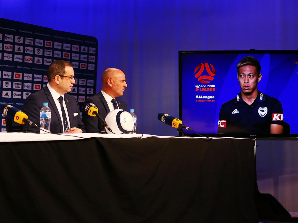 Melbourne Victory Training Session & Media Opportunity
