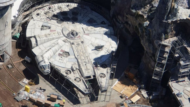 The Millennium Falcon can also be spotted. Picture: Bioreconstruct