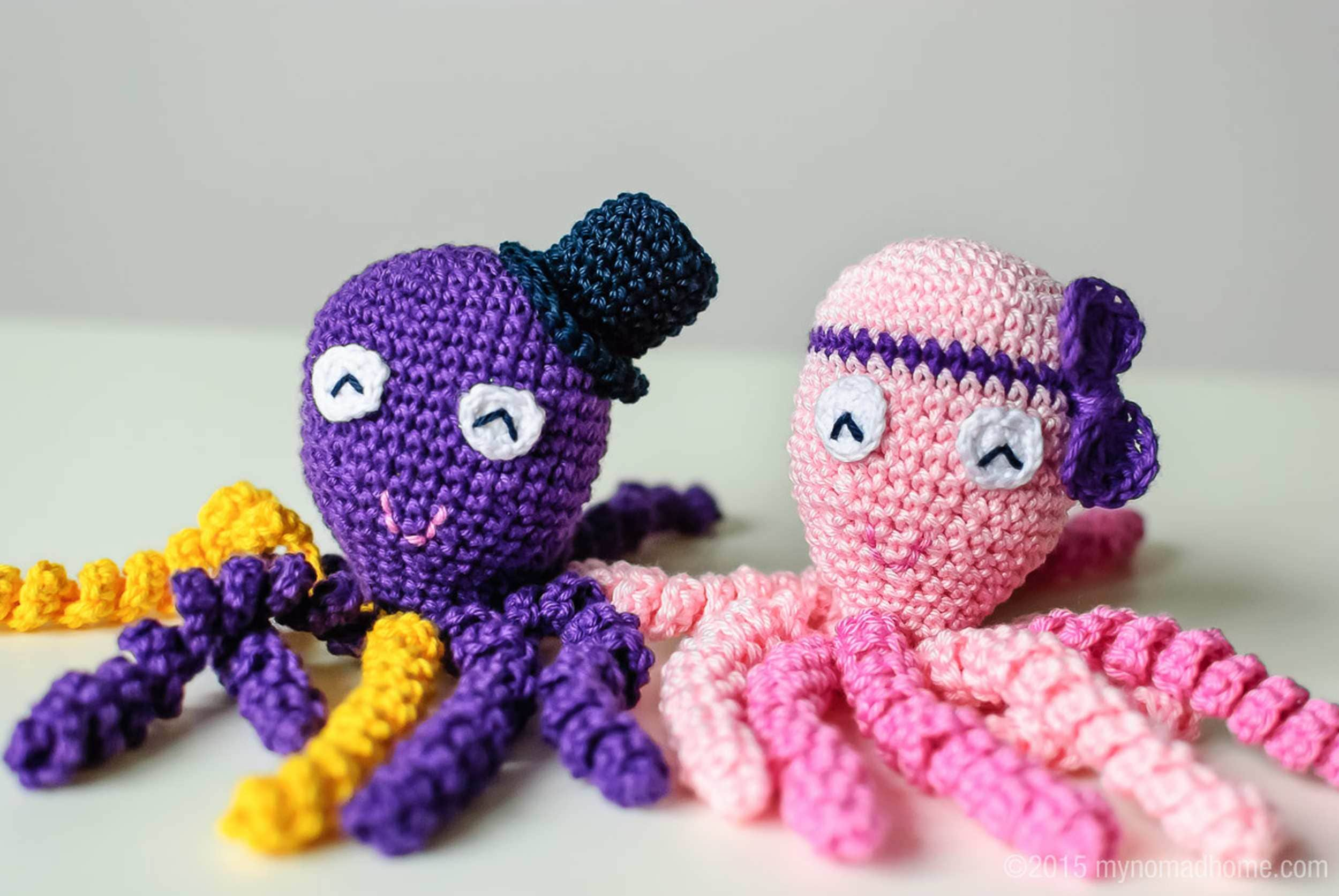 Premature Babies Given Comfort And Health Boost By Crochet Octopus