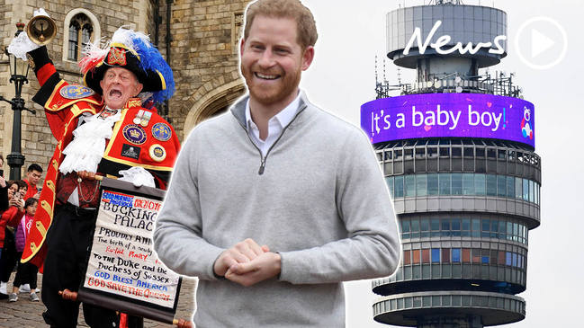 Royal Excitement: World reacts as Baby Sussex arrives