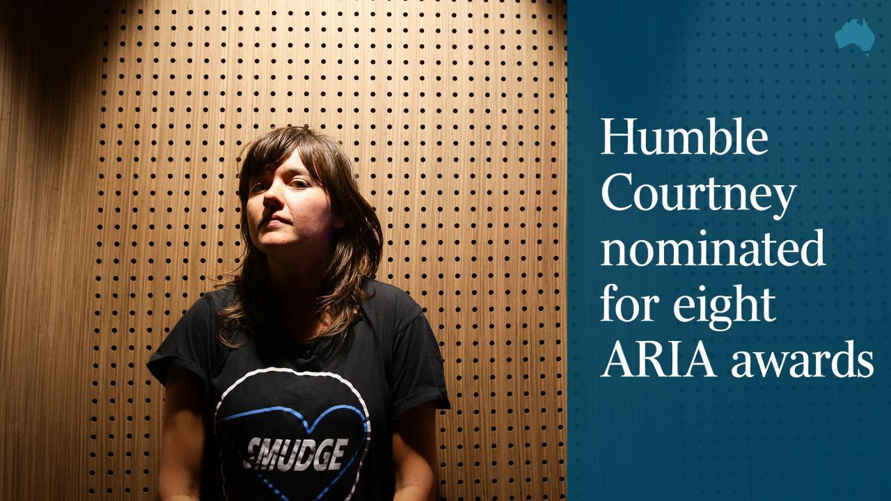 Humble Courtney nominated for eight ARIA awards