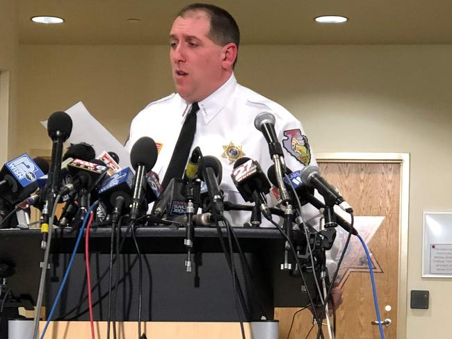 Barron County Sheriff Chris Fitzgerald, who says he is still searching for the 'why' in the case of the abduction of Jayme Closs and the murder of her parents. Picture: Kerem Yucel