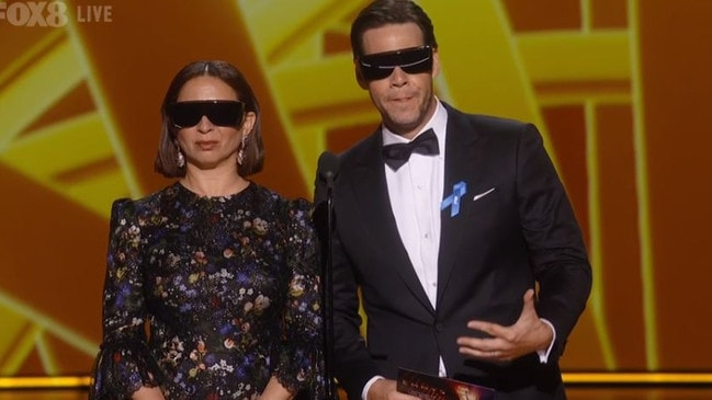 Maya Rudolph and Ike Barinholtz really should've picked a different day for their Lasik.