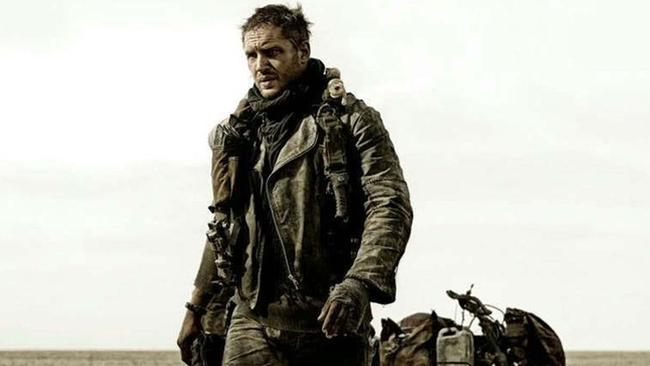 Big shoes to fill ... Tom Hardy is the new Mad Max in Fury Road.