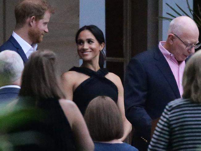 It was earlier revealed the Duchess of Sussex will be withdrawing from some events as she juggles pregnancy with royal duties on the couple's tour. Picture: Matrix