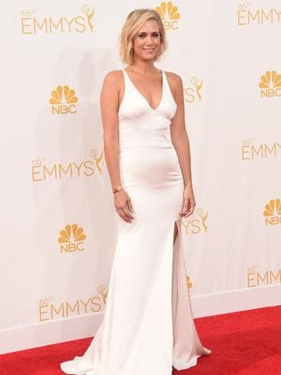 Kristen Wiig attends the 66th Annual Primetime Emmy Awards.